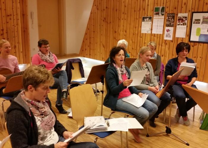 Hinter den Kulissen - Proben 2015